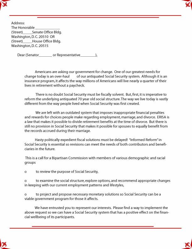 Social Security Award Letter Sample